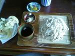 りく かきあげそば(冷) 08.1.26