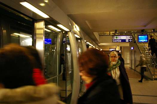 パリの地下鉄1