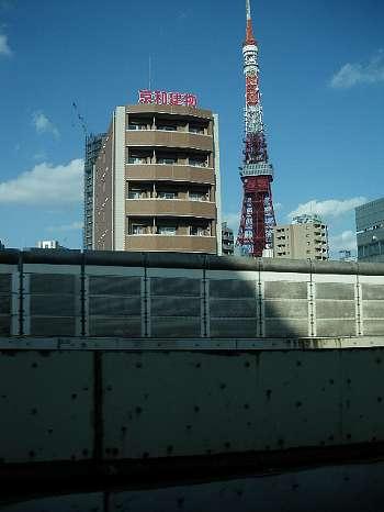 なんと言っても東京タワー