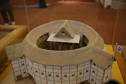 グローブ座にあるグローブ座の模型