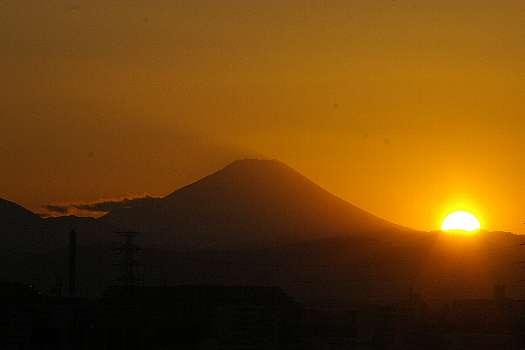 I2008年最後の夕陽