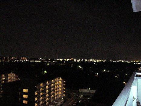 ベランダからの夜景35