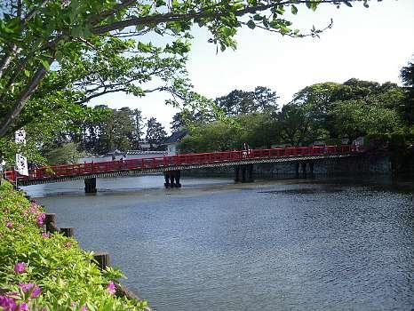 小田原城への橋