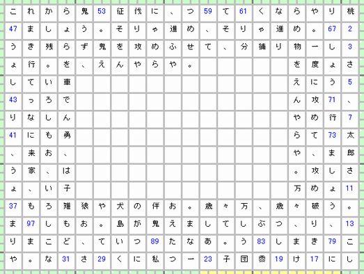桃太郎-素数-4