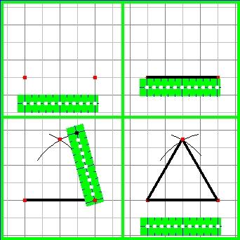 4コマ図形スライド