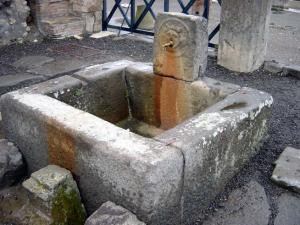 ポンペイの水道