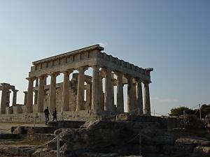 エギナ島のアフェア神殿