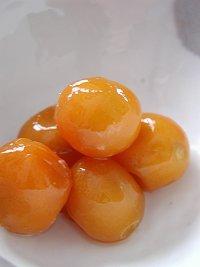 金柑のシロップ煮