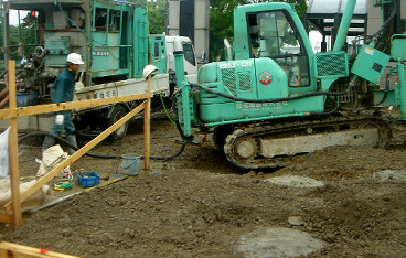 地盤改良工事