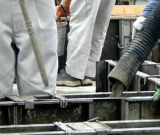 基礎工事(立ち上がりコンクリート打設)