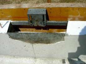 基礎工事(床下通気口設置)