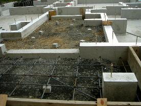 基礎工事(玄関周り)