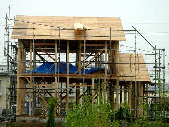 木工事(建て方)