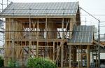 木工事(屋根工事・筋交い)