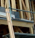 屋根立ち上がり部分防水紙