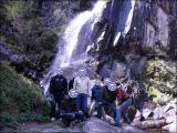 大倉の滝にて記念写真