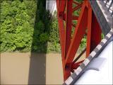 城山大橋。高いです!