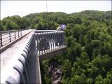 城山大橋。なんか出っ張りがある。
