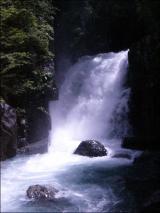 付知の滝 水量ヤバスww