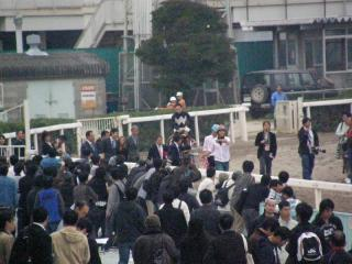 兵庫クイーンカップを勝ったキーポケットの表彰式