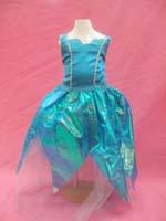 青緑ドレス
