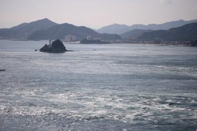 うず潮??な海