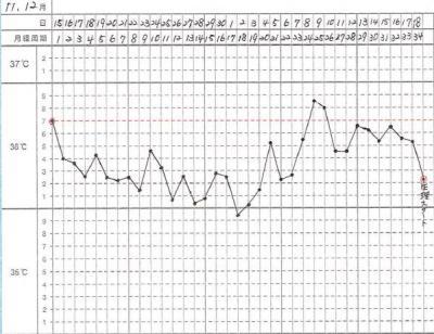 11、12月基礎体温