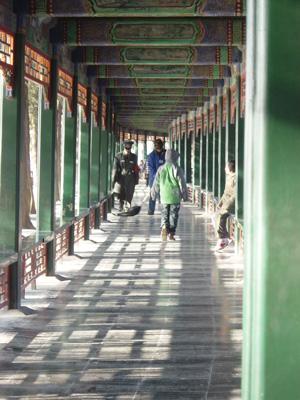 頤和園 廊下
