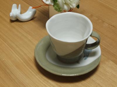コーヒーカップ&ソーサー by 陶庫ishii