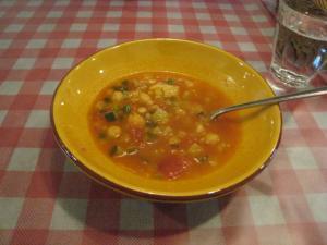 ひよこまめのスープ