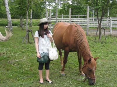 お馬さんと
