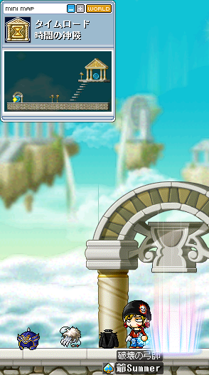 時間の神殿ドロ