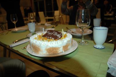 私のバースデーケーキ♪
