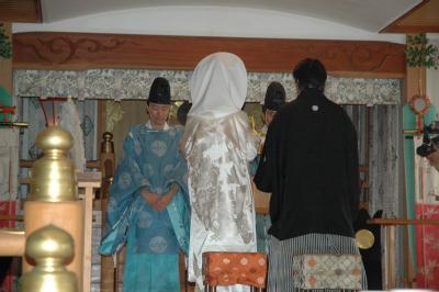 お友達の結婚式です