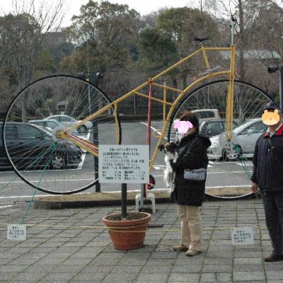 日本一大きい自転車だってさ