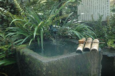 名水「姫の井戸」