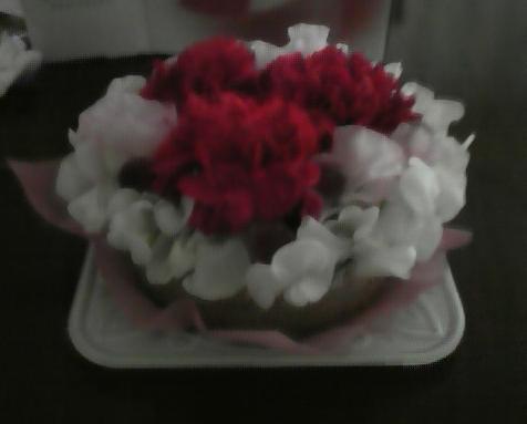 お花ケーキ
