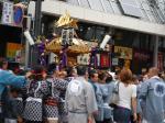 巣鴨駅付近のお祭り御輿(1)