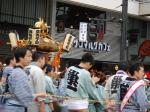 鵜がも駅付近のお祭り御輿(2)