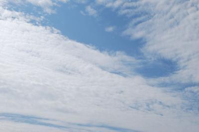 ベランダから見た空