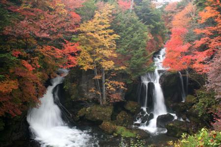竜頭の滝の紅葉