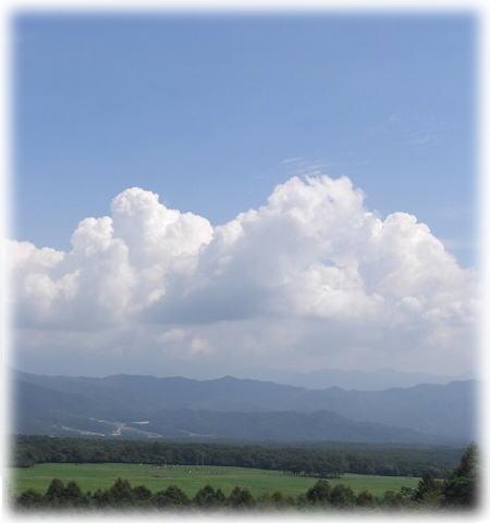 もくもく雲。