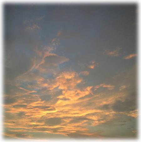 夕焼け空0925。