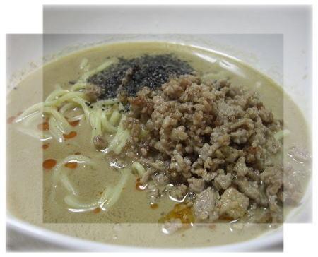 シンプル坦々麺。