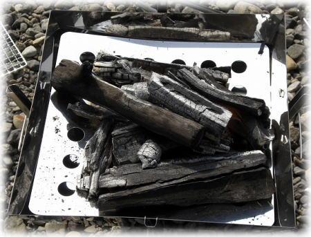 焚き火台。