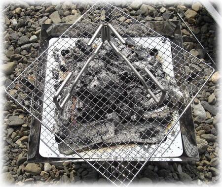 焚き火台2。