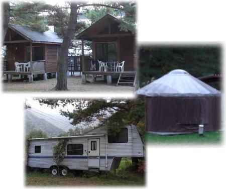 宿泊施設。