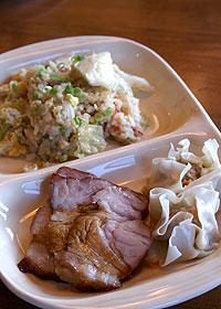 チャーハン+焼き豚ディナー