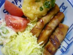 こうや豆腐レシピ 『豚肉巻き』