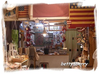 betty&berry 店内